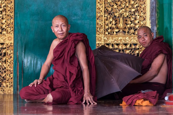 Myanmar, monks